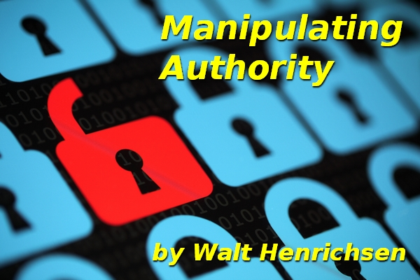 Manipulating  Authority