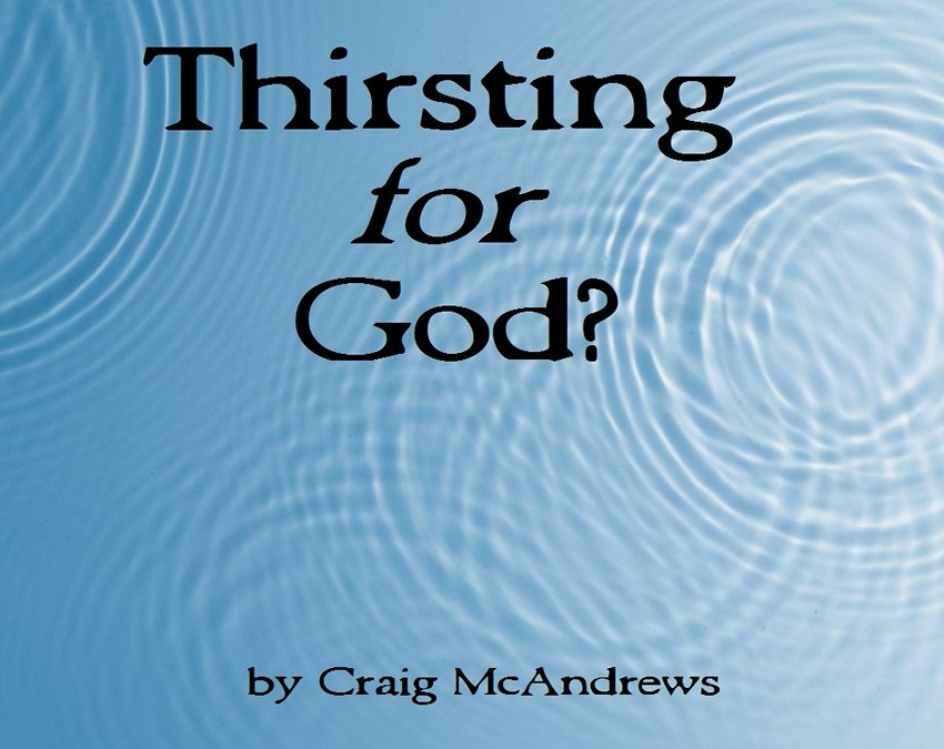 Thirsting for God?