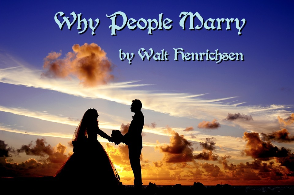 Why People Marry