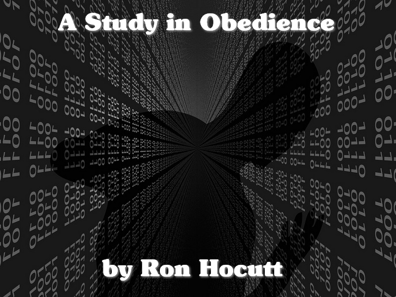 A Study in Obedience