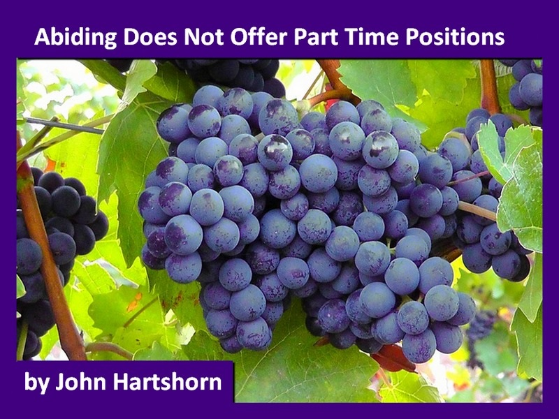 Abiding Does Not Offer Part Time Positions